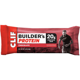 CLIF Bar Builder's Protein Bar Caja 12x68g, Chocolate